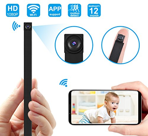 Hidden Camera DIY Module Mini Camera /Security Camera with WiFi Remote View/Motion Detection for Home/Office (Support iOS/Android/PC)