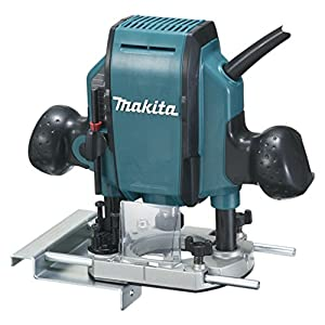 51Gc4otBK2L. SS300  - Makita RP0900 Fresadora De Superficie 900W 27000 Rpm Pinza, 900 W, Negro, Azul