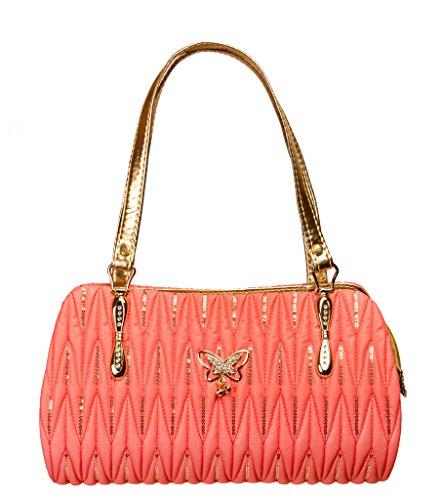 Louise Belgium Designer Handbag for Women / Womenâ??s Handbag / Shoulder Bag for Women _ Orange , LB-612