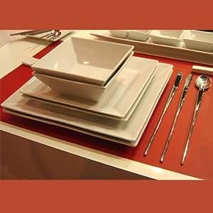 Pordamsa - Ensemble Duo Gourmet Carré Design