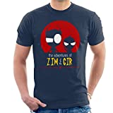 Invader Zim Adventures of Zim and Gir Mens T-Shirt
