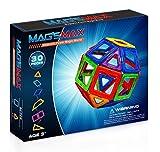 Kinslent 30 Teile Konstruktions Bausteine Spielzeug, BPA Frei, STEM pädagogisches Spielzeug - 3D Konzept pädagogische Lernspiel Set