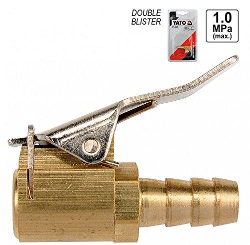 Druckluft Auto Ventilaufsatz Ventilstecker Momentstecker Klemmnippel 6 mm