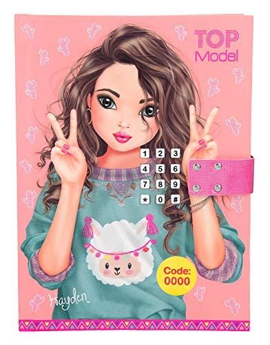 Top Model 0010297-Diario con Codice segreto