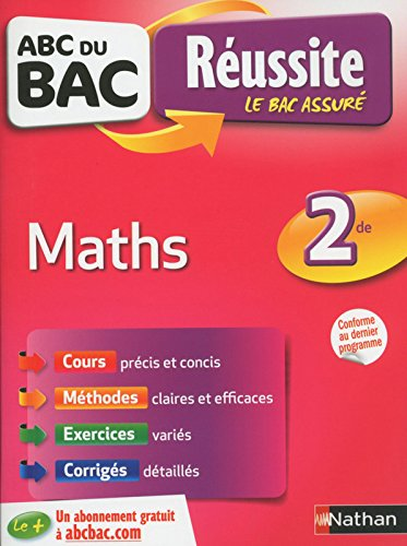 ABC du BAC Réussite Maths 2de