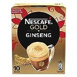 Nescafé Gold Ginseng Preparato Solubile per Caffè al Ginseng, 10 Bustine, 70g