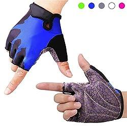 BOILDEG Cycling Gloves Men Women Half Finger Cycling Gloves for MTB