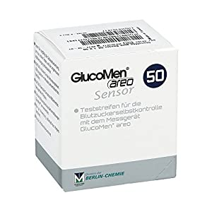 Glucomen areo Sensor Test 50 stk