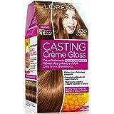 L'Oréal Paris Colorazione Capelli Casting Crème Gloss, Tinta Colore Trattamento senza Ammoniaca per una Fragranza Piacevole, 630 Caramel