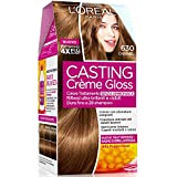 L'Oréal Paris Casting Crème Gloss Colore Trattamento senza Ammoniaca, 630 Caramel