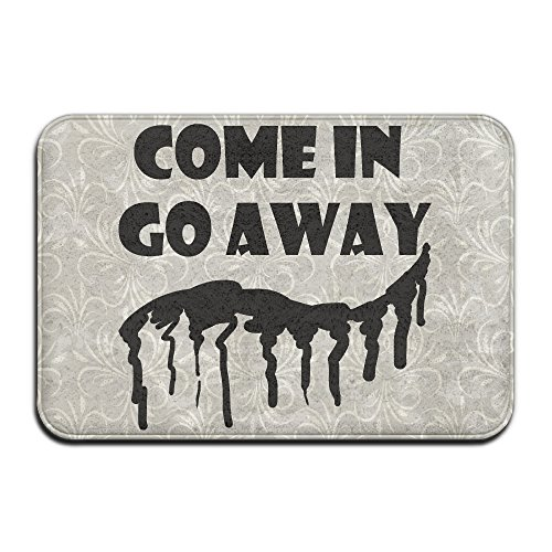 Come In Go Away Welcome Tapis de porte intérieure 4060 cm
