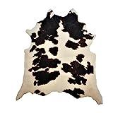 havatex Safari Hunter - Animal Print Konturenschnitt Kuh | realistischer Look | modernste Printtechnik | 100% Polyamid | Stilvoller Hingucker | waschbar bei 30°, Farbe:Multicolor, Größe:95 x 120 cm
