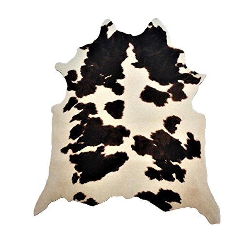 Safari Hunter - Animal Print Konturenschnitt Kuh | realistischer Look dank modernster Printtechnik | 100% Polyamid | stilvoller Hingucker | vielseitig einsetzbar und kombinierbar | sehr pflegeleicht, Farbe:Multicolor, Größe:95 x 120 cm
