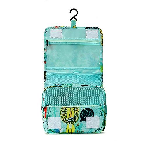 Foto de Tuscall Bolsas de Aseo Cosméticos Neceser de Viaje para Colgar Impermeable Organizador Accesorios de Baño con Asas para Negocios, Vacaciones