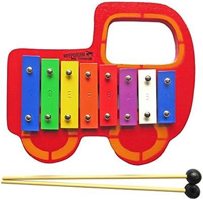 Keepdrum carillón Auto para niños música juguete