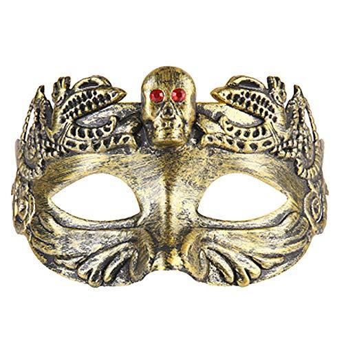 JIAENY Halloween-Maske,Neue Halloween Maske Masken Kreative Griechisch Römisch Cosplay Maskerade Masken Halloween Party Kostüm - Römische Party Kostüm