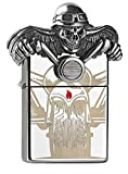 Zippo Death Rider - Limited Edition 2500 Pieces-Chrome High Polished-Special Collection 2017 Sturmfeuerzeug