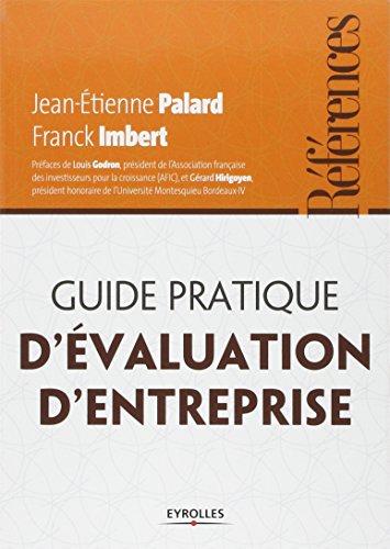 Guide pratique d'évaluation d'entreprise par Franck Imbert