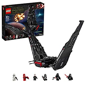 LEGO StarWars ShuttlediKyloRen, Set di Costruzioni della Nave Stellare con 2 Shooter a Molla, Collezione: L'Ascesa di Skywalker, 75256 5702016668865 LEGO