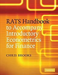 RATS Handbook to Accompany Introductory Econometrics for Finance by Chris Brooks (2008-11-06)