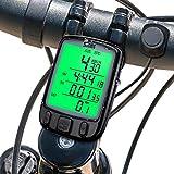 QYLT Compteur de Vélo sans Fil, Ordinateur de Vélo Étanche Multifonction, Compteur...