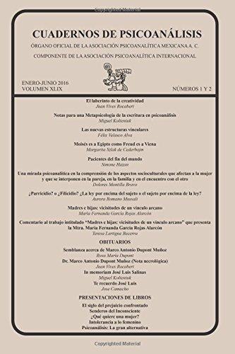 CUADERNOS DE PSICOANÁLISIS, enero-junio de 2016, VOLUMEN XLIX, números 1 y 2: Volume 51