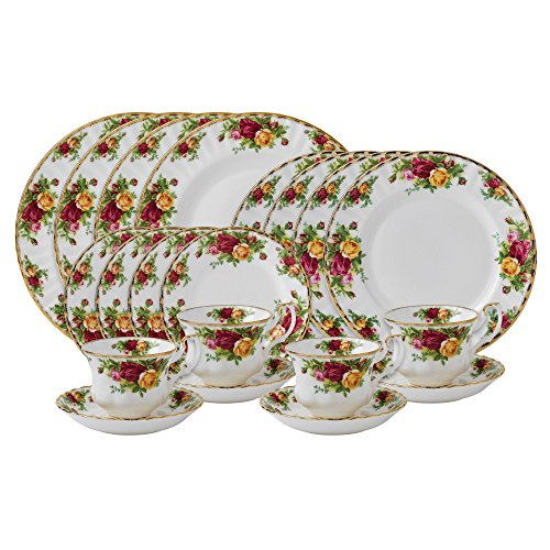 Royal Albert Old Country Roses 20 teiliges Set Old Country Roses