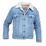 Levi's Kids Jungen Jacke Jacket NM40017, Blau (Indigo 46), 12 Jahre (Herstellergröße: 12A)