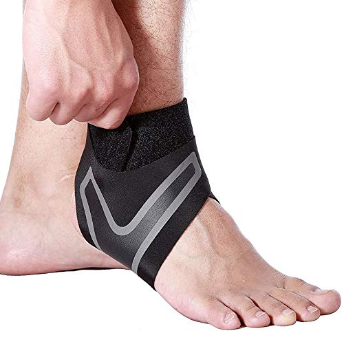 Dastrues 1 Pair Sports Compression Elastic Ankle Braces Brace Support Protector Wrap Ankle Brace Ankle Brace Support Ankles Brace Ankle Brace for Men Ladies Ankle BraceAnkle Support Brace for Running Heel Ankle Wrap