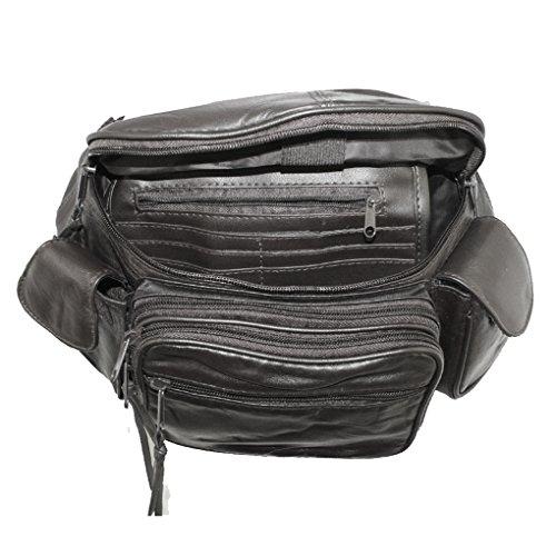 Silver Fever 3074, Borsa a tracolla donna Multicolore nero medium nero
