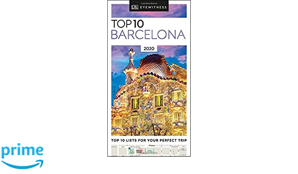 Top Lists 2020.Top 10 Barcelona 2020 Pocket Travel Guide Amazon Co Uk