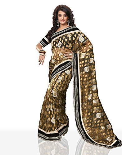 Chirag Sarees Synthetic Saree (4404_Multi)