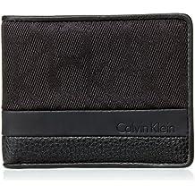 Calvin Klein Tom Logo Slimfold 6CC, Bolso para Hombre