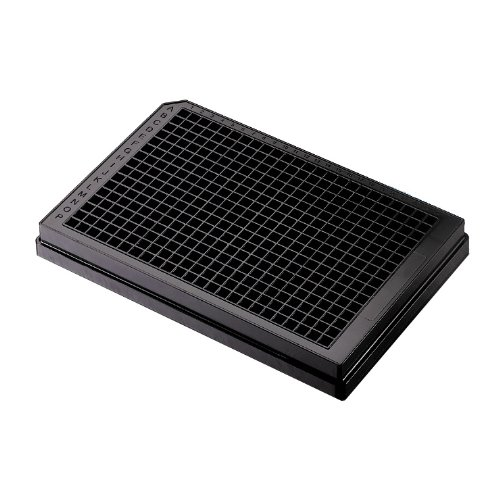 axygen 3542Polystyrol Flacher Boden geringes Volumen tc-treated Platte mit Deckel, 384gut (50Stück)