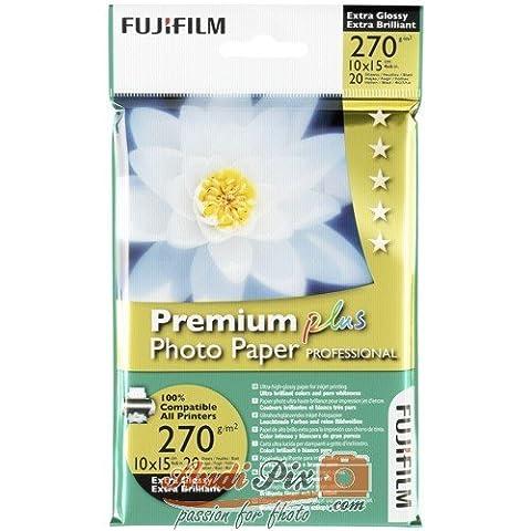 Fujifilm 16091 Premium Plus Carta Fotografica Professionale,