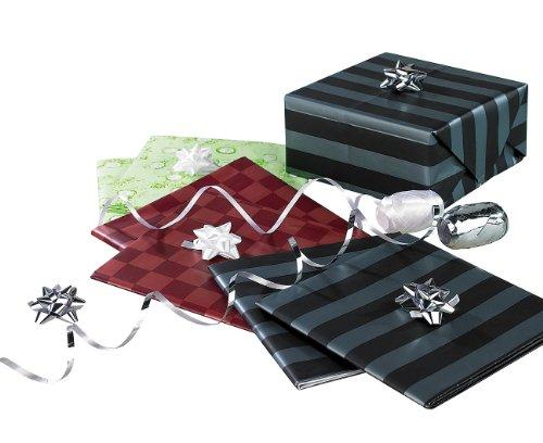 pier: 14-teiliges Geschenkverpackungs-Set für jeden Anlass (Geschenkpapier-Set) (Rotes Und Weißes Geschenkpapier)