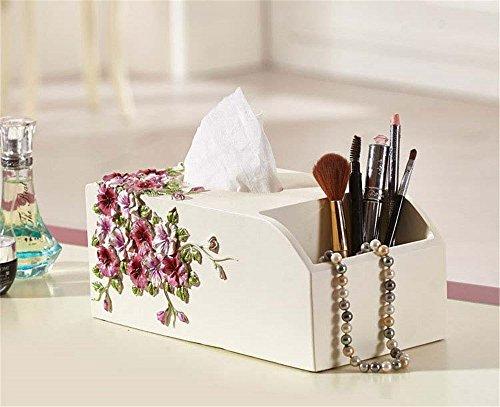 MIAORUI résine européenne collecte boîte de mouchoirs / cadeau d'aspiration, salon multifonctionnelle boîte de papier