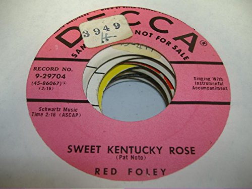 red-foley-45-rpm-sweet-kentucky-rose-croce-di-oro-cross-of-gold