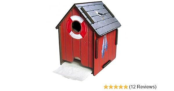 Werkhaus ToPa Haus Toilettenpapierhalter Toilettenpapierhaus