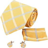 YAC2C01 elegante idea regalo Vario dei colori Mens Seta Motivo ornamentale cravatta 3PT da Y&G