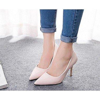 Moda Donna Sandali Sexy donna tacchi Primavera / Estate / Autunno Comfort PU Casual Stiletto Heel OthersBlack / blu / rosa / beige