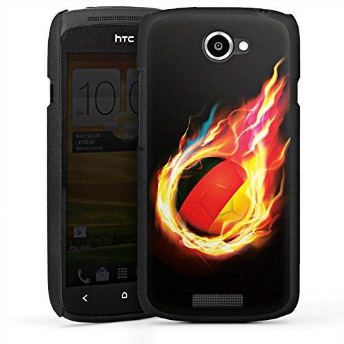 DeinDesign HTC One S Hülle Case Handyhülle Football Fussball Sport