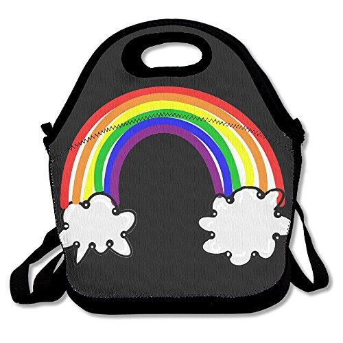 xiisxin libre Rainbow–ALMUERZO Tote Bag–grande y grueso con aislamiento bolsa–Traje para Hombres Mujeres Niños