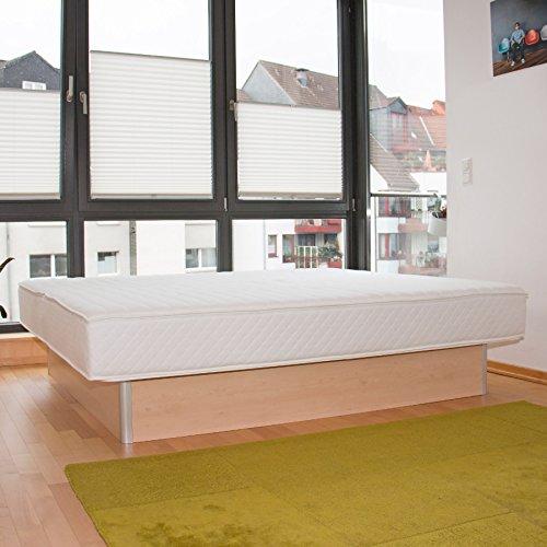 bellvita WASSERBETTEN inkl. Lieferung und AUFBAUSERVICE durch Fachpersonal, 160 cm x 200 cm (ahorn)