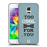 Head Case Designs Zu Cool Für Dich Jungs Und Fliege Hard Back Cover für Samsung Galaxy S5 mini