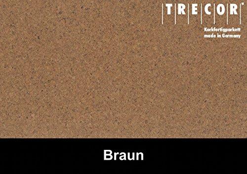 Trecor Kork Exclusiv Sockelleisten 60 x 16 x 2500 mm - Wählen Sie aus Opal, Creme & Weiss (Weiss) -