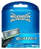 Wilkinson Sword Quattro Razor Blades - Pack of 8