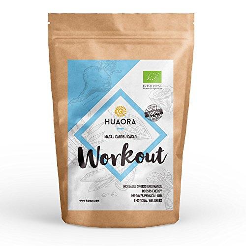 Huaora workout - aumentare energia e rendimento con esercizi di forza – recuperare il tessuto muscolare dopo l'allenamento – senza glutine.