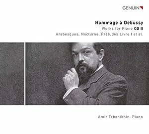 Debussy : L'oeuvre pour piano, vol. 2. Tebenikhin.