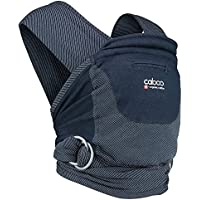 Caboo Organic Yarn Died Multi Positional Baby Carrier, Midnight